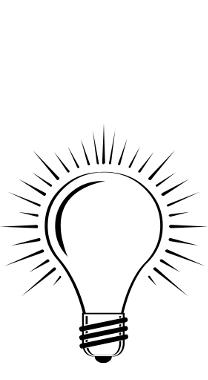 Think Of X lightbulb